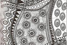 pintura com formas geometricas