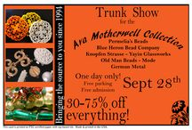 Whole Bead Trunk Shows / by Whole Bead Show