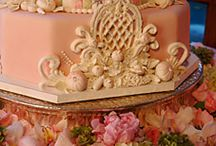 Royal icing taart