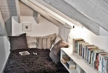 Sloped ceilings