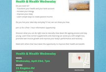 Create your own wealth with your health