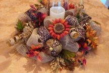 Thanksgiving centre pieces