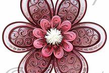 quilling flori