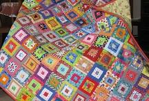 Coperta quadretti piccoli multicolor
