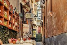 charming alleys / charming alleys and streets