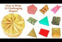 Geschenkverpackungen / gift wrapping