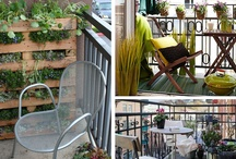 Decorate a Small Balcony / Create an urban oasis by maximizing your outdoor space. / by Wayfair.com