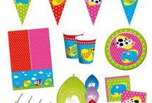 Kinder/Peuter verjaardag / Alle soorten feestartikelen voor de allerkleinsten. Geef een onvergetelijk kinderfeestje voor je zoon of dochter!