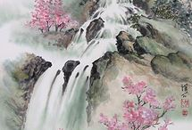 asian traditional paintings