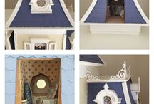 Dollhouse - Beacon Hill / 1:12 scale dollhouses and furnishings, specifically the Greenleaf Beacon Hill dollhouse kit