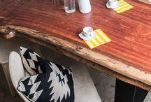 Edelholz / Fine Wood / Fine wood design tables // Edelholz Design Tische.