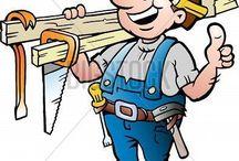 carpintero, oficio, profesión.