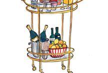 Pop up champagne bar