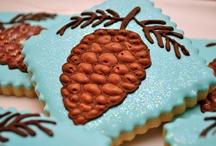 beautiful Pinecone cookies by Sugar Rush Treats!