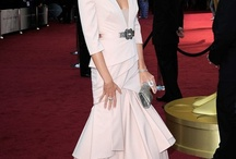 Oscar gowns and clutches