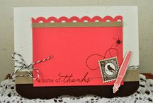PTI-Happy Trails / Cardstock:  Papertrey Ink (True Black, white), Stampin' Up! (Pool Party)