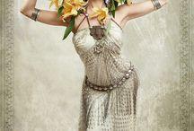 Tribal Bellydance Art Nouveau & Art Deco style