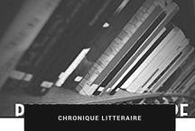 Chroniques Littéraires de Nadine Bach Jockers