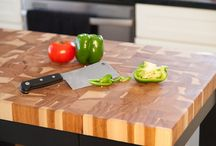 Butcher Block Style with McClure Tables / Whether you're interested in our dazzling countertops, our sturdy butcher block furniture, or a cutting board or chopping block, all of our products are made and inspected by our team of highly skilled woodworkers and furniture makers.