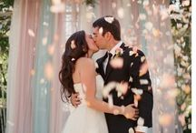 Lovely wedding backdrops