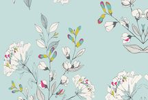 цветочные принты