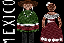 People of the World Embroidery Designs / People of the World Embroidery Designs Collection Latino Countries http://cindysembroiderydesigns.com