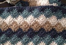 crochet scarf / crochet