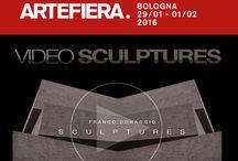 """Le mie NEWS / Anteprima italiana del mio nuovo lavoro """"Scultures"""" con opere e video allo stand Sabrina Raffaghello Arte Contemporanea di Artefiera a Bologna.  Il video sarà online a fine mese - - - - - - - - - - - - - - - - - http://www.donaggioart.it/news.HTML"""