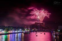XV août / Festivités et feu d'artifice du XV août à Huy