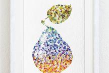 frutta geometrica