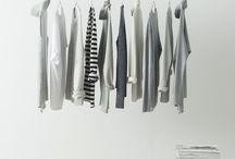 Penderie minimaliste / Dressing minimaliste, simple efficace.