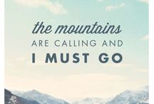 Mountain Motivation / Inspiration for you to get to the mountains. We will see you there.  / by Manitou Springs
