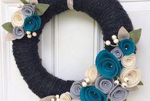 kapı süsü wreath