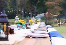 Gastronome Garden Party / Farm to table dinner event, al fresco