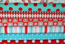 I love the fabrics- Telas