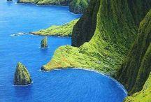 Hawaï / Les plus beaux endroits sur l'île d'Hawaï.