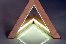 pantalla con triangulos