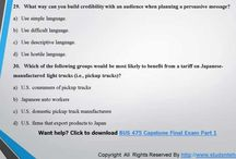 BUS 475 Capstone Final Examination Part 1