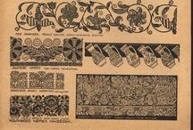 vysivky slovieni zo starej knihy