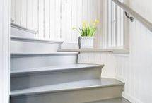 Golv och trappa