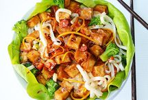 Vegetarian Asian Fusion / Vegetarian and vegan noodles, stir fries and other Asian inspired dishes!