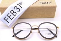Italian Deisgner Eyewear By Feb31st Fantastic Vintage Style And Combination Glasses!