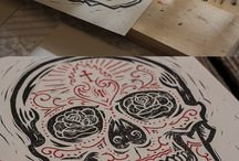Printmaking for Students / Wonderful ideas to make printmaking doable in a classroom setting.