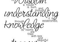 A Proverb...