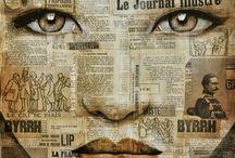 Pauline Gagnon / Pauline Gagnon é originalmente de Quebec no Canadá, mas ela tem viajado extensivamente em toda a Ásia, influenciando, assim, seu estilo artístico. Embora ela incide principalmente sobre a pintura de hoje, ela tem sido muito versátil em seu interesse, estudando serigrafia, escultura de aço, jóias e teatro em Montreal; e pedra escultura na Itália. Quanto à sua pintura, depois de passar duas décadas no estilo nonfigurative, ela adotou o retrato como o principal gênero de seu trabalho.