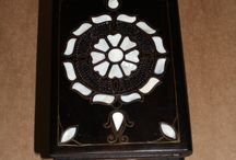 Mother of Pearl Wooden items / Hand-made goods , and history behind them