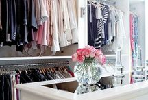 [Closet Inspiration] / dream, shelves, walk-in, storage, shoes, budget, mirror, hangers, minimalist, organization, how to build, cleanses, lighting, organizing, classy, spring cleaning, clothing storage, DIY, bedroom, Ikea, wire baskets, master, fashion, tips, simple