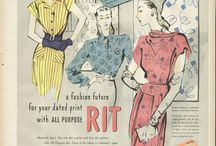 Vintage and Vintage Inspired / Fashion from, or inspired by, the 1920's - 1970's. / by Elly Swift