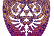 Beautiful designs for Clothings. / Some designs that I found on Qwertee or Yetee or others :)