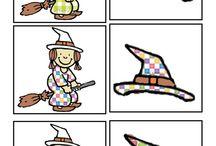 Čarodějky - pomůcky
